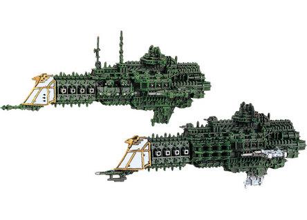 BFG Imperial Cruisers by GW