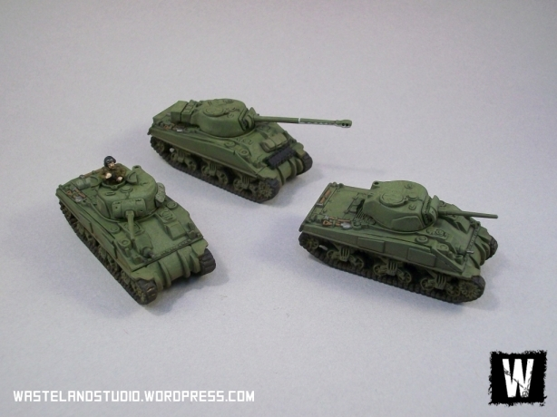 First Armoured Platoon