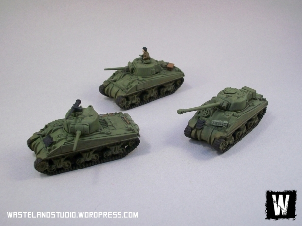 Second Armoured Platoon