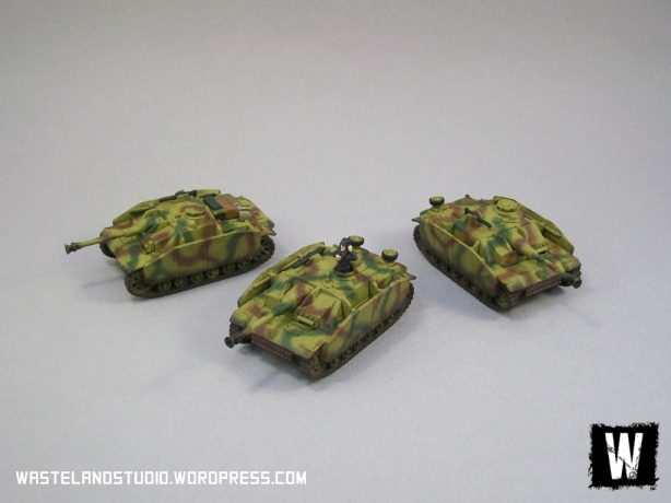 StuG assault guns